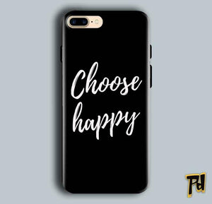 Apple iphone 7 Plus Mobile Covers Cases Choose happy - Lowest Price - Paybydaddy.com