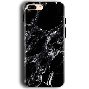Apple iphone 7 Mobile Covers Cases Pure Black Marble Texture - Lowest Price - Paybydaddy.com