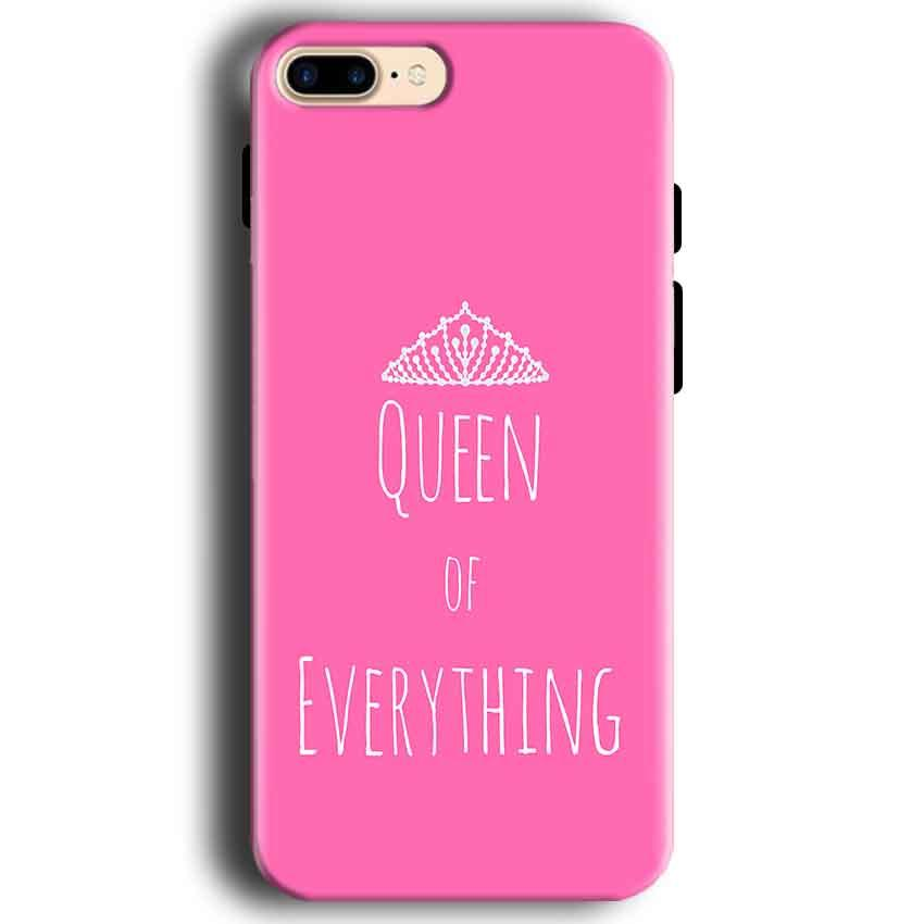Apple iphone 7 Mobile Covers Cases Queen Of Everything Pink White - Lowest Price - Paybydaddy.com