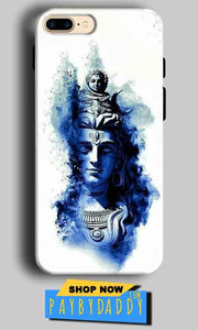 Apple iphone 7 Mobile Covers Cases Shiva Blue White - Lowest Price - Paybydaddy.com