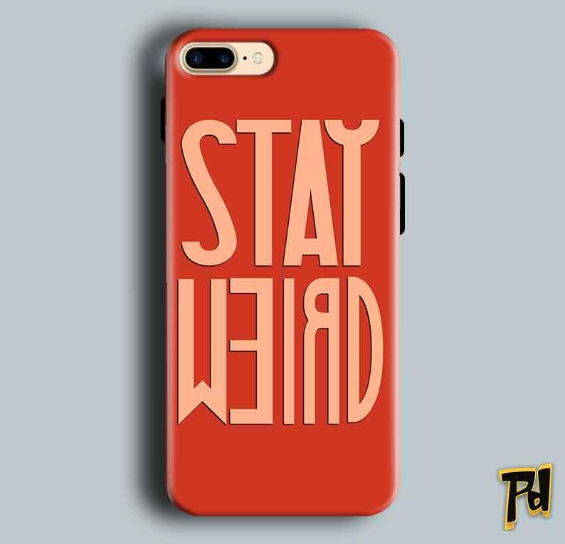 Apple iphone 7 Mobile Covers Cases Stay Weird - Lowest Price - Paybydaddy.com