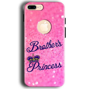 Apple iphone 7 With Apple Cut Mobile Covers Cases Brothers princess - Lowest Price - Paybydaddy.com