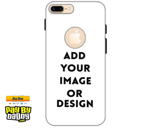 Pic on Cover / Photo Back Cover / Customized Mobile Covers For  Apple iphone 7 With Apple Cut