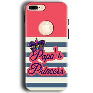 Apple iphone 7 With Apple Cut Mobile Covers Cases Papas Princess - Lowest Price - Paybydaddy.com