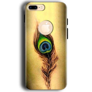 Apple iphone 7 With Apple Cut Mobile Covers Cases Peacock coloured art - Lowest Price - Paybydaddy.com