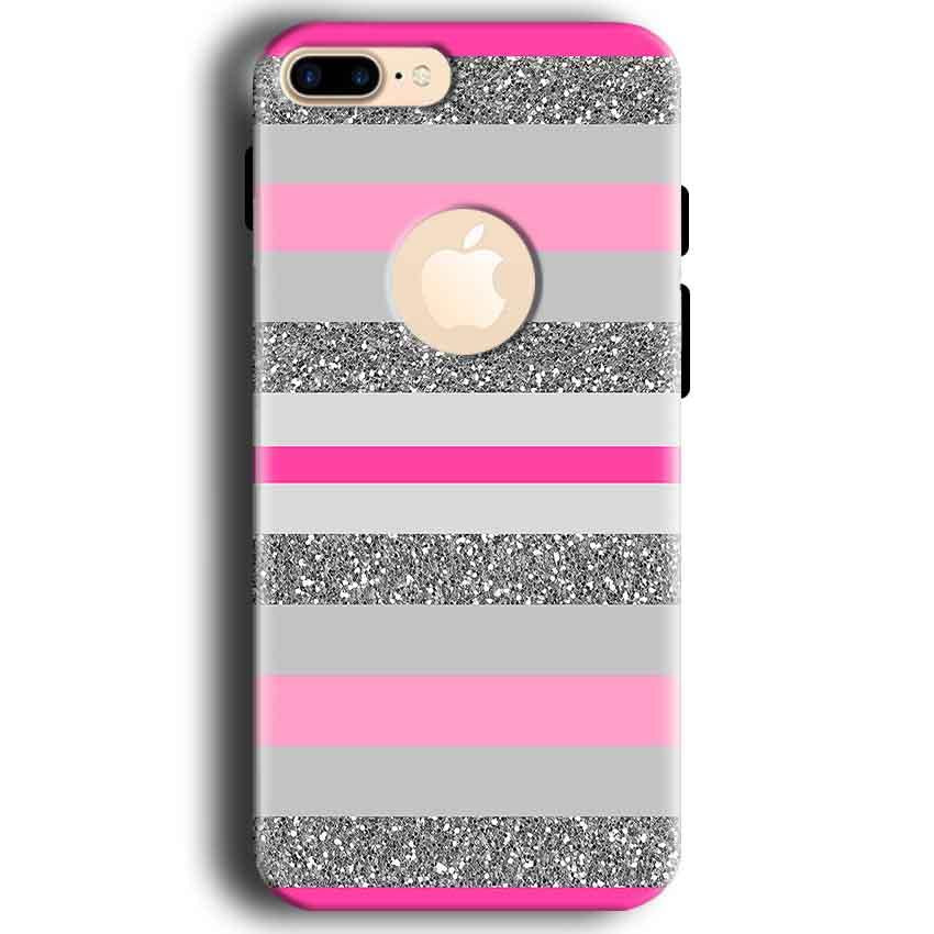 Apple iphone 7 With Apple Cut Mobile Covers Cases Pink colour pattern - Lowest Price - Paybydaddy.com