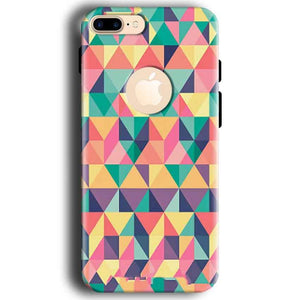 Apple iphone 7 With Apple Cut Mobile Covers Cases Prisma coloured design - Lowest Price - Paybydaddy.com