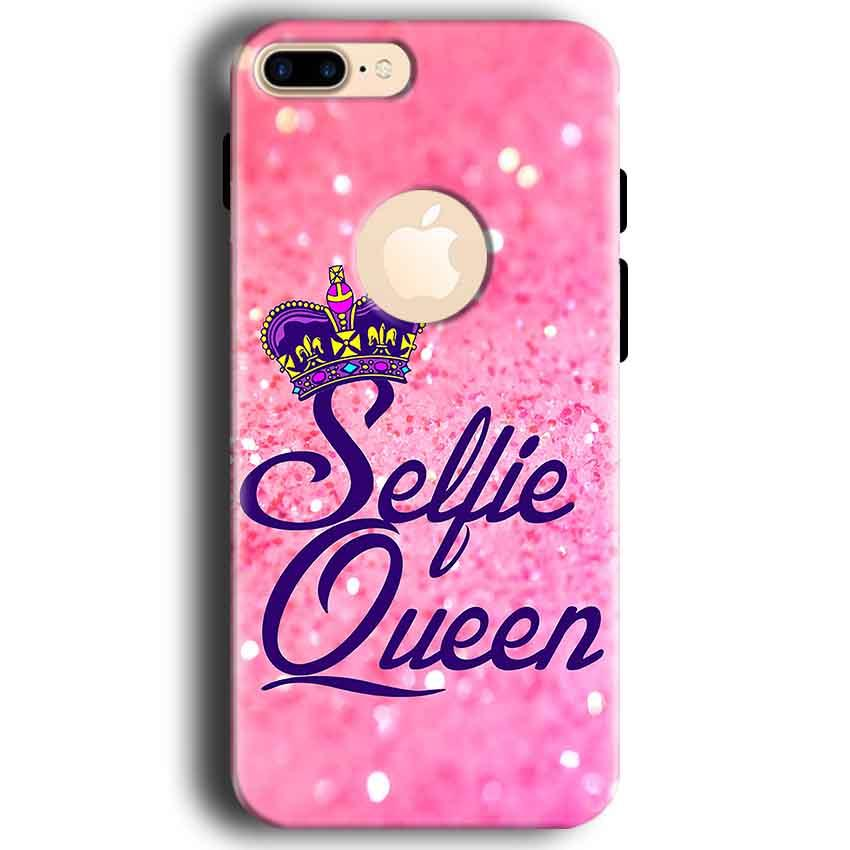 Apple iphone 7 With Apple Cut Mobile Covers Cases Selfie Queen - Lowest Price - Paybydaddy.com