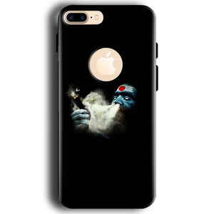 Apple iphone 7 With Apple Cut Mobile Covers Cases Shiva Aghori Smoking - Lowest Price - Paybydaddy.com