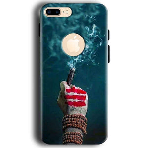 Apple iphone 7 With Apple Cut Mobile Covers Cases Shiva Hand With Clilam - Lowest Price - Paybydaddy.com