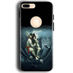 Apple iphone 7 With Apple Cut Mobile Covers Cases Shiva Smoking - Lowest Price - Paybydaddy.com