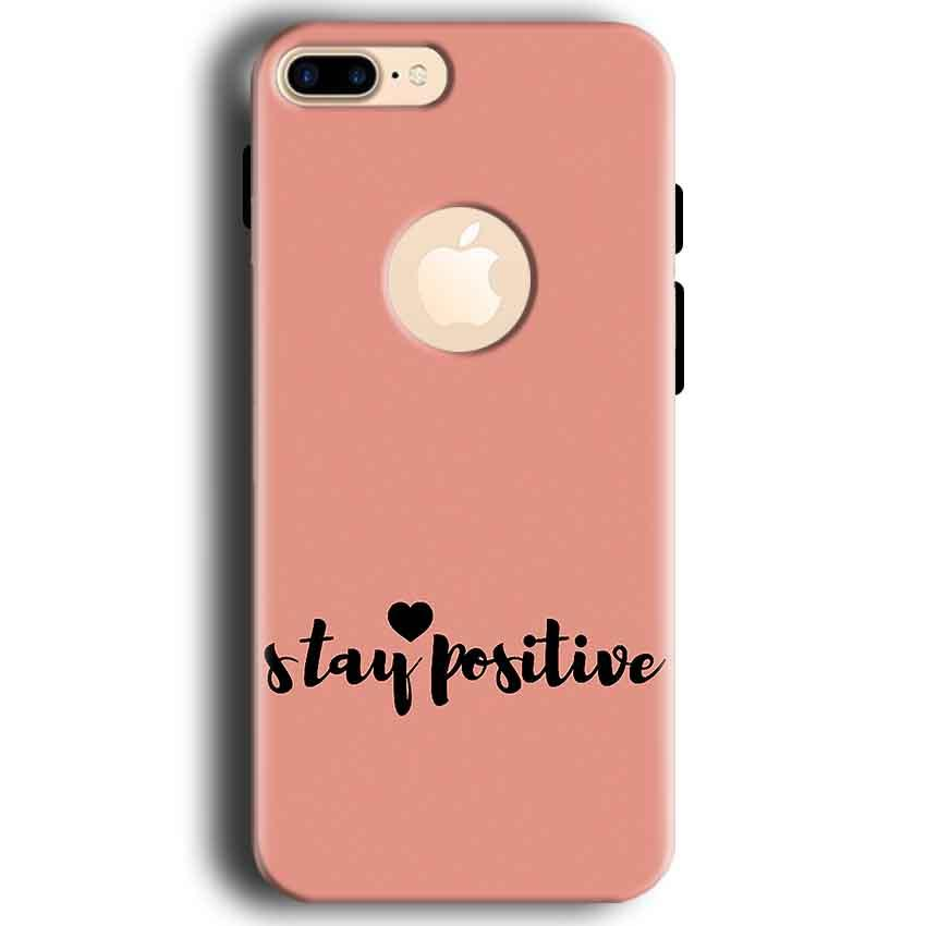 Apple iphone 7 With Apple Cut Mobile Covers Cases Stay Positive - Lowest Price - Paybydaddy.com