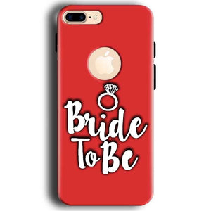 Apple iphone 7 With Apple Cut Mobile Covers Cases bride to be with ring - Lowest Price - Paybydaddy.com