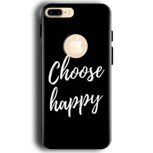 Apple iphone 7 With Apple Cut Mobile Covers Cases Choose happy - Lowest Price - Paybydaddy.com