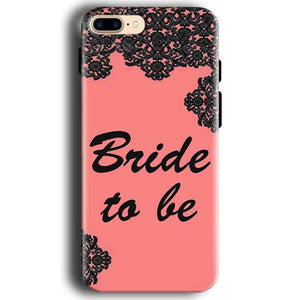 Apple iphone 7 Mobile Covers Cases Mobile Covers Cases bride to be with ring Black Pink - Lowest Price - Paybydaddy.com