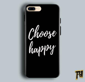 Apple iphone 7 Mobile Covers Cases Choose happy - Lowest Price - Paybydaddy.com
