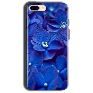 Apple iphone 8 Mobile Covers Cases Blue flower - Lowest Price - Paybydaddy.com