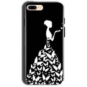 Apple iphone 8 Mobile Covers Cases Butterfly black girl - Lowest Price - Paybydaddy.com