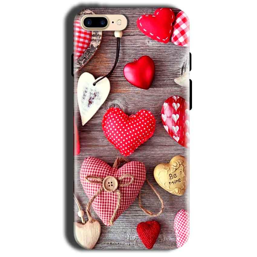 Apple iphone 8 Mobile Covers Cases Hearts- Lowest Price - Paybydaddy.com