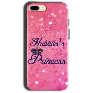 Apple iphone 8 Mobile Covers Cases Hubbies Princess - Lowest Price - Paybydaddy.com