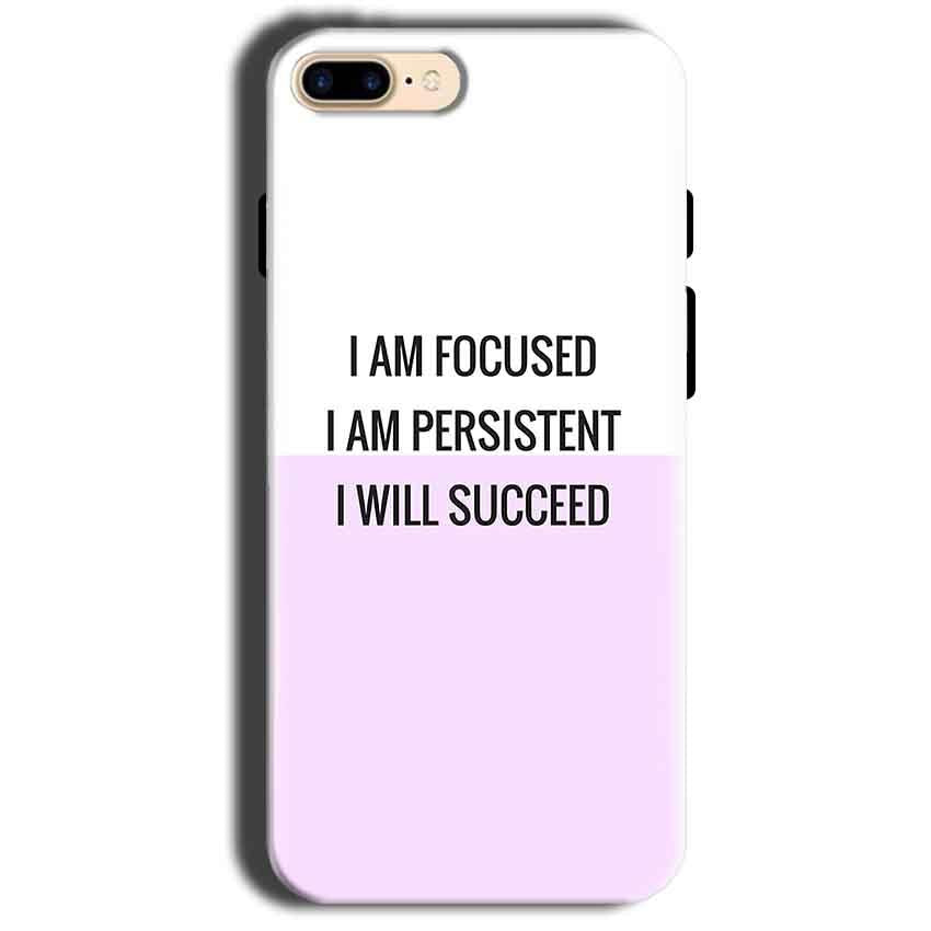Apple iphone 8 Mobile Covers Cases I am Focused - Lowest Price - Paybydaddy.com