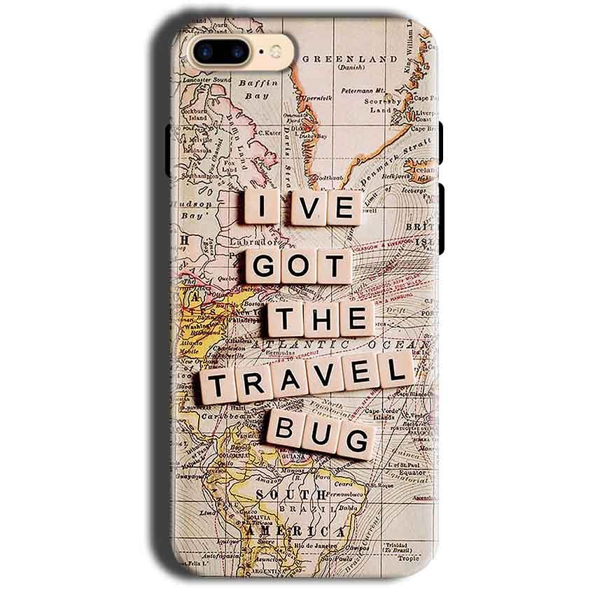 Apple iphone 8 Mobile Covers Cases Live Travel Bug - Lowest Price - Paybydaddy.com