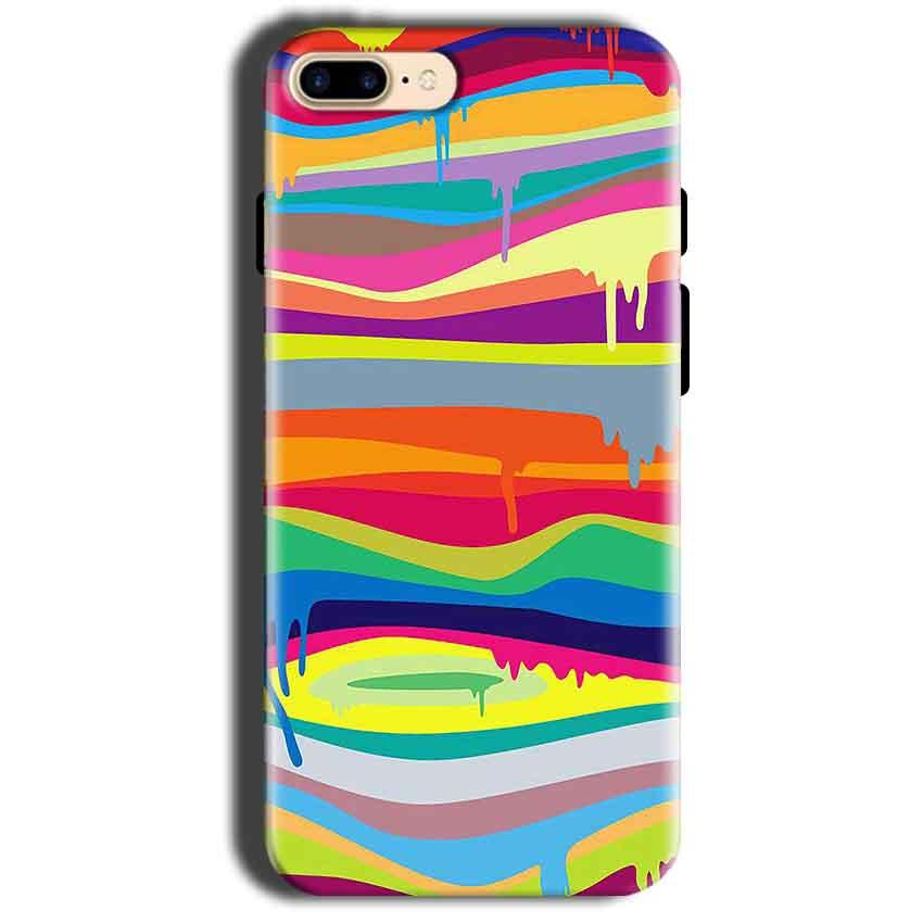 Apple iphone 8 Mobile Covers Cases Melted colours - Lowest Price - Paybydaddy.com
