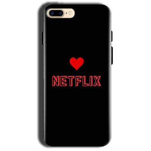 Apple iphone 8 Mobile Covers Cases NETFLIX WITH HEART - Lowest Price - Paybydaddy.com