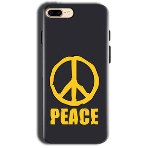 Apple iphone 8 Mobile Covers Cases Peace Blue Yellow - Lowest Price - Paybydaddy.com