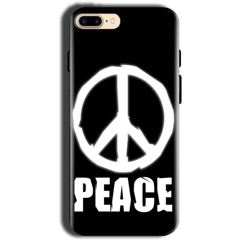 Apple iphone 8 Mobile Covers Cases Peace Sign In White - Lowest Price - Paybydaddy.com