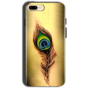 Apple iphone 8 Mobile Covers Cases Peacock coloured art - Lowest Price - Paybydaddy.com