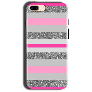 Apple iphone 8 Mobile Covers Cases Pink colour pattern - Lowest Price - Paybydaddy.com