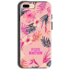 Apple iphone 8 Mobile Covers Cases Pink nation - Lowest Price - Paybydaddy.com