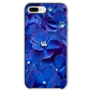 Apple iphone 8 Plus Mobile Covers Cases Blue flower - Lowest Price - Paybydaddy.com
