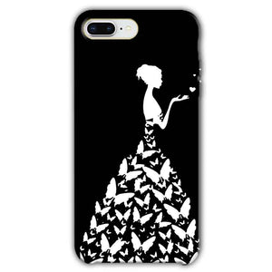Apple iphone 8 Plus Mobile Covers Cases Butterfly black girl - Lowest Price - Paybydaddy.com