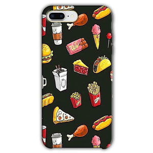 Apple iphone 8 Plus Mobile Covers Cases Foodie Design - Lowest Price - Paybydaddy.com
