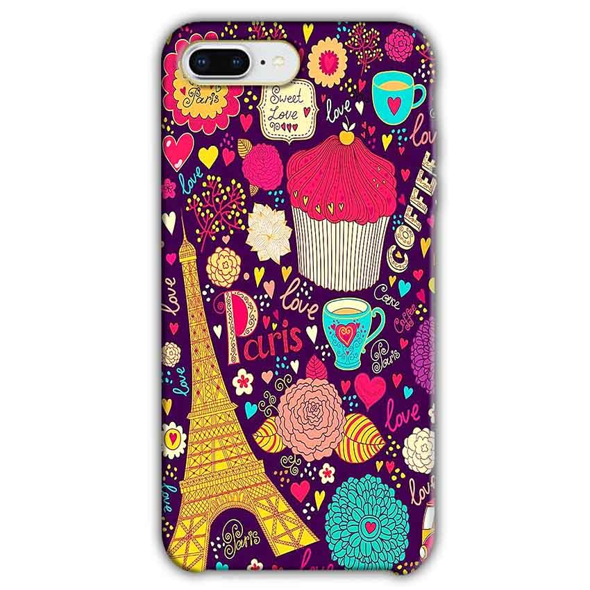 Apple iphone 8 Plus Mobile Covers Cases Paris Sweet love - Lowest Price - Paybydaddy.com