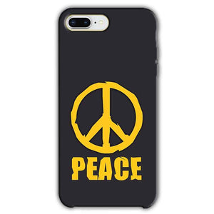 Apple iphone 8 Plus Mobile Covers Cases Peace Blue Yellow - Lowest Price - Paybydaddy.com