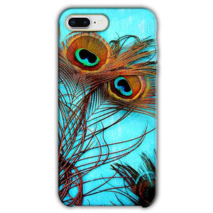 Apple iphone 8 Plus Mobile Covers Cases Peacock blue wings - Lowest Price - Paybydaddy.com