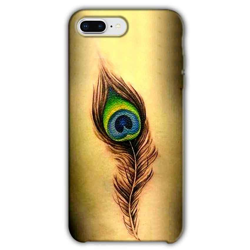 Apple iphone 8 Plus Mobile Covers Cases Peacock coloured art - Lowest Price - Paybydaddy.com