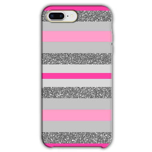 Apple iphone 8 Plus Mobile Covers Cases Pink colour pattern - Lowest Price - Paybydaddy.com