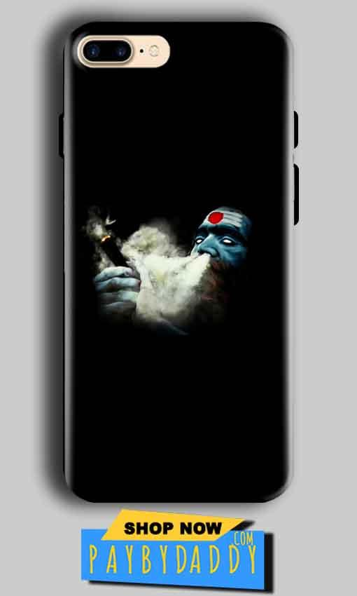 Apple iphone 8 Plus Mobile Covers Cases Shiva Aghori Smoking - Lowest Price - Paybydaddy.com