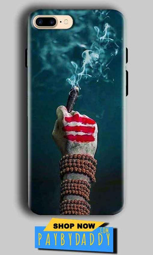 Apple iphone 8 Plus Mobile Covers Cases Shiva Hand With Clilam - Lowest Price - Paybydaddy.com