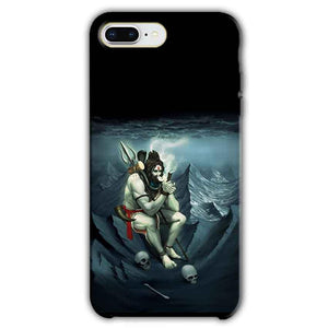 Apple iphone 8 Plus Mobile Covers Cases Shiva Smoking - Lowest Price - Paybydaddy.com