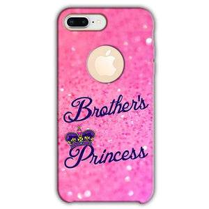 Apple iphone 8 Plus With Apple Cut Mobile Covers Cases Brothers princess - Lowest Price - Paybydaddy.com