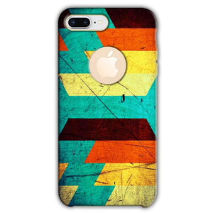 Apple iphone 8 Plus With Apple Cut Mobile Covers Cases Colorful Patterns - Lowest Price - Paybydaddy.com