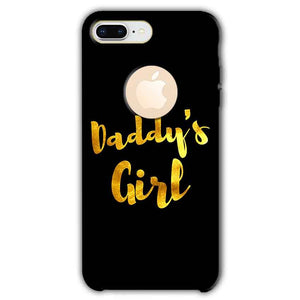 Apple iphone 8 Plus With Apple Cut Mobile Covers Cases Daddys girl - Lowest Price - Paybydaddy.com