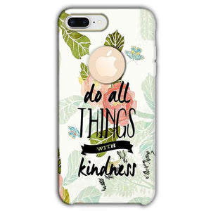 Apple iphone 8 Plus With Apple Cut Mobile Covers Cases Do all things with kindness - Lowest Price - Paybydaddy.com