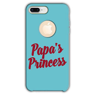 Apple iphone 8 Plus With Apple Cut Mobile Covers Cases Papas Princess - Lowest Price - Paybydaddy.com