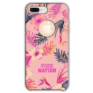 Apple iphone 8 Plus With Apple Cut Mobile Covers Cases Pink nation - Lowest Price - Paybydaddy.com